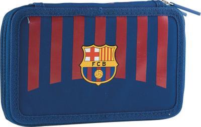 Пенал с наполнением на 2 отделения 2W FC-270 FC Barcelona Barca Fan 8